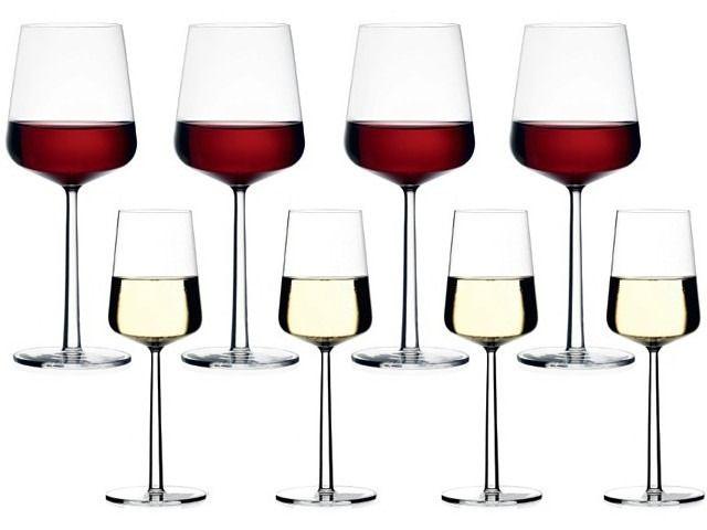 Beautiful Iittala wine glasses for your Happy Vines wines