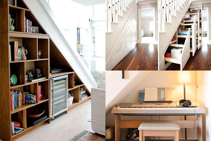 25 beste idee n over kast onder de trap op pinterest schappen onder trap trap opslag en - Idee kast onder helling ...