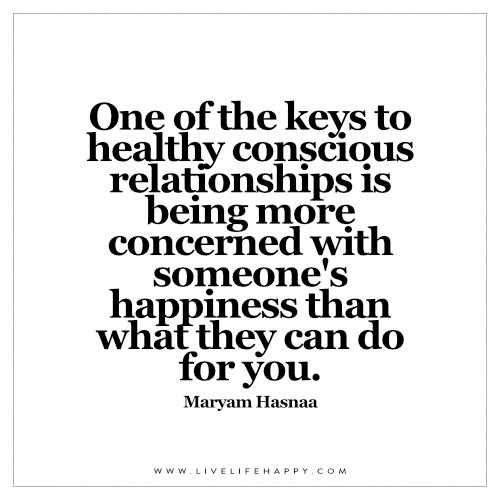 what is the key to a perfect relationship