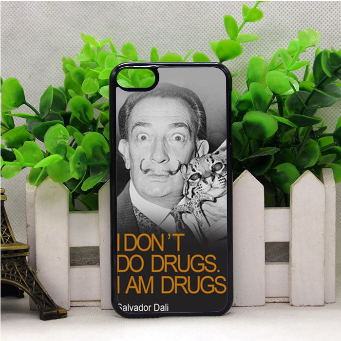 I DON'T DO DRUGS I AM DRUGS SALVADOR DALI IPOD TOUCH 6