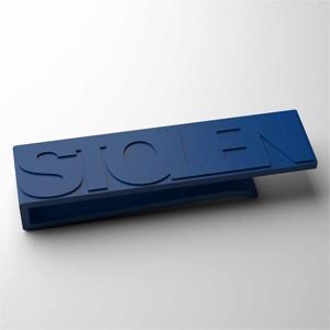 STOLEN MONEY CLIP - BLUE