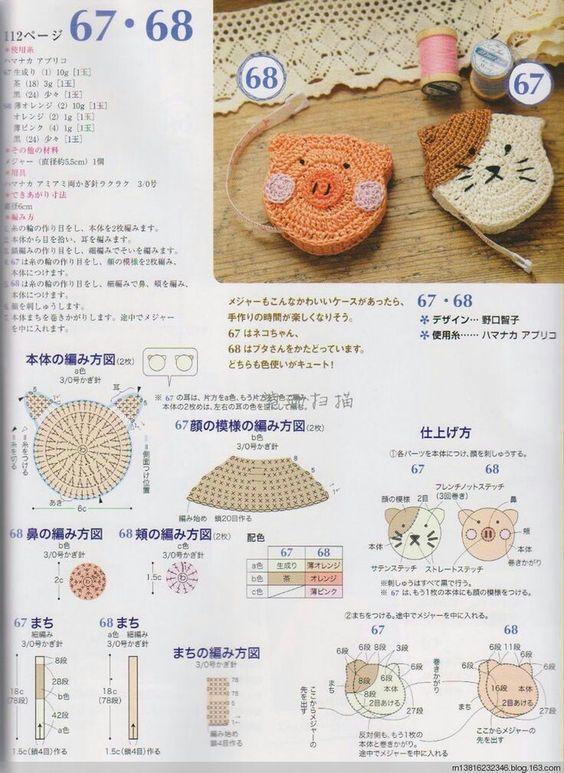 Bolsas para niñas (patrones) | De todo un poco | Pinterest | Croché ...