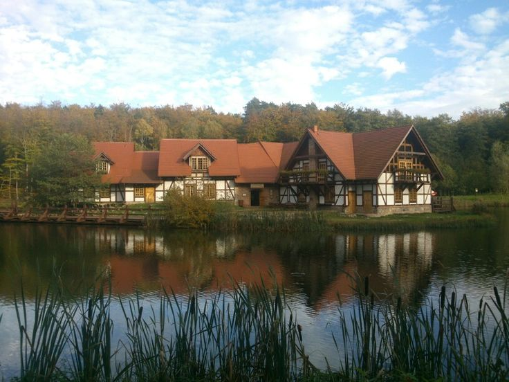 House on the water in N Poland.