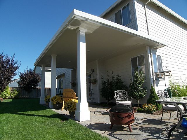 Hipped #Patio Cover, #Albany, #Oregon! Http://tntbuildersinc