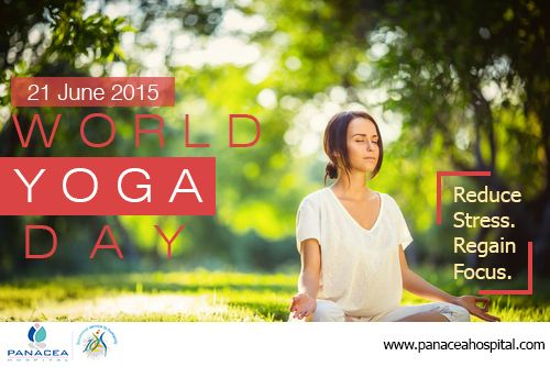 Yoga should be a part of life so that one can live a healthy life and stress free.