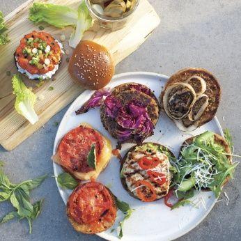 Quinoa-Feta Burgers - Whole Living Eat Well