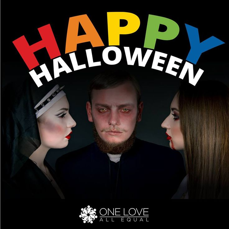 Happy Halloween from the One Love, All Equal team