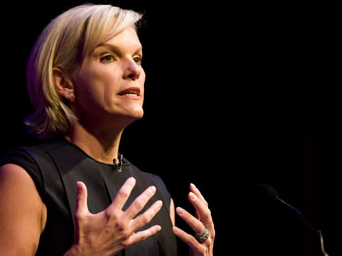 Elisabeth Murdoch gives the first MacTaggart lecture by a woman in 17 years
