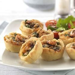 Blauwe kaas taartjes @ allrecipes.nl