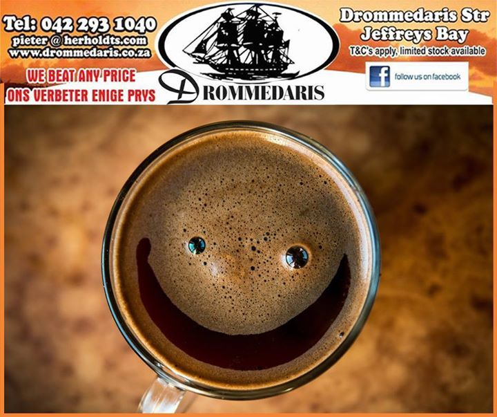 Studies show that women who regularly drink fully caffeinated coffee have a 20% lower risk of depression than non-coffee drinkers. Visit Drommedaris and have a look at the variety of coffee and espresso machines we have in store. #trivia #lifestyle #drommedaris