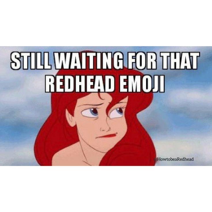 The redhead emoji is coming June 2018!