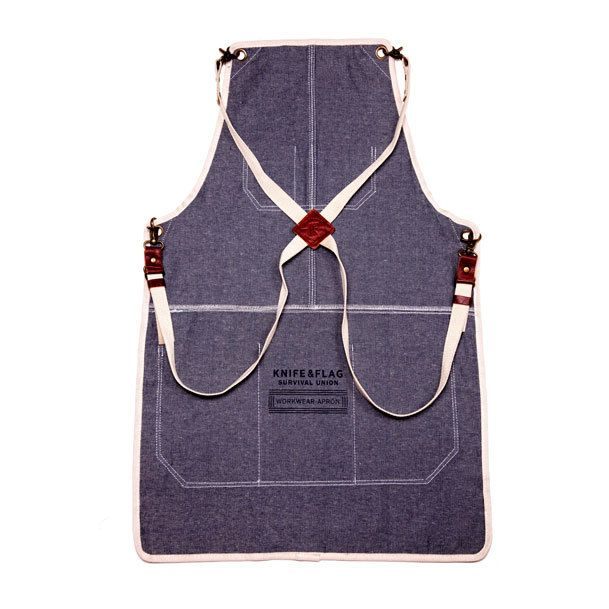 The first manly apron #getbisy #authentic