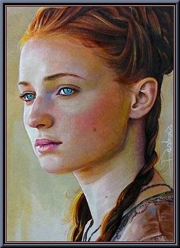 The beautiful Sansa Stark