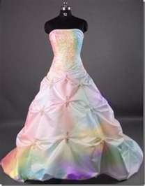 rainbow dress i love