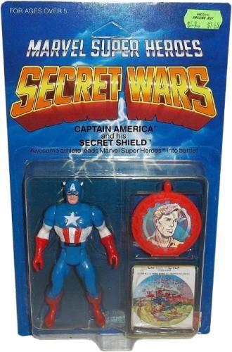 Secret Wars action figure