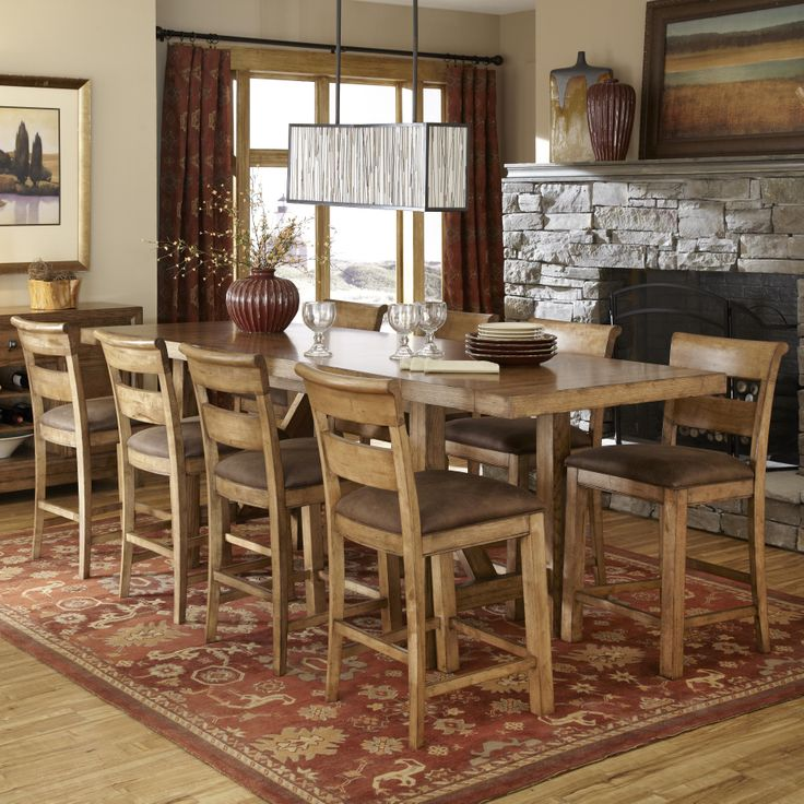 Logan Pub Height Dining Set by Legacy Classic | new home decor ...