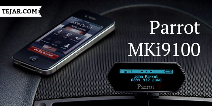 Parrot MKi9100 Bluetooth advanced hands-free music system with an OLED screen. For More: https://www.tejar.com/ae/parrot-mki9100 #Tejar