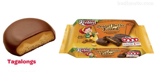 list of all Girl Scout Cookies and their almost identical counterparts