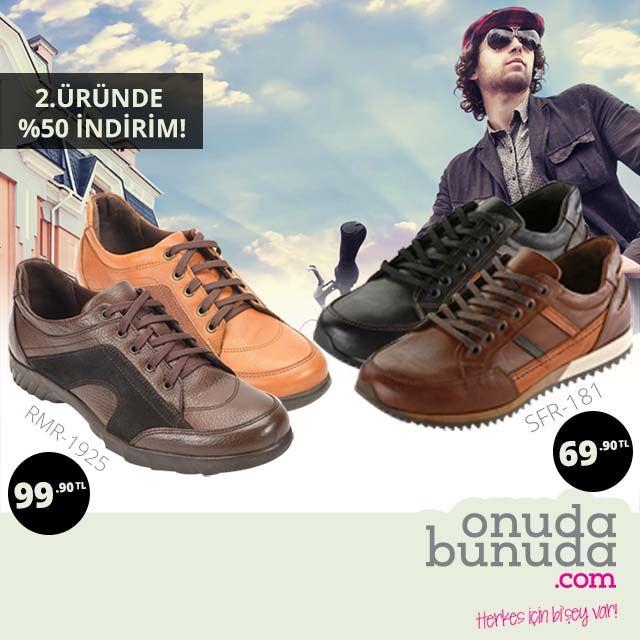 SFR-181 ve RMR-1925 Erkek Kışlık Ayakkabılarda İndirim! 69,90 TL' den Başlayan Fiyatlar... #ayakkabı #erkekayakkabı #deriayakkabı #stil #erkekmoda #erkekgiyim #hakikideri #indirim #kampanya #shoes