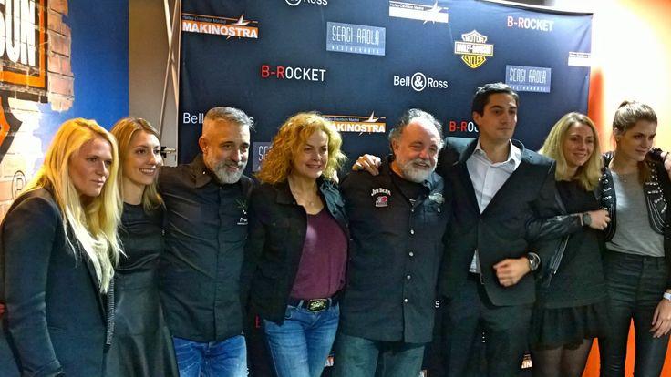 El equipo de Bell & Ross, Makinostra y Sergi Arola