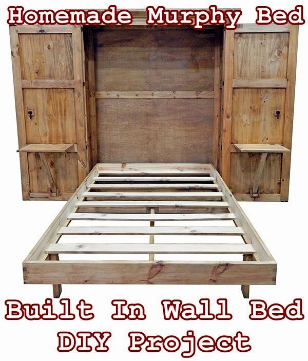 New Diy Murphy Bed Ideas Diy Bed Tiny House Furniture Murphy Bed