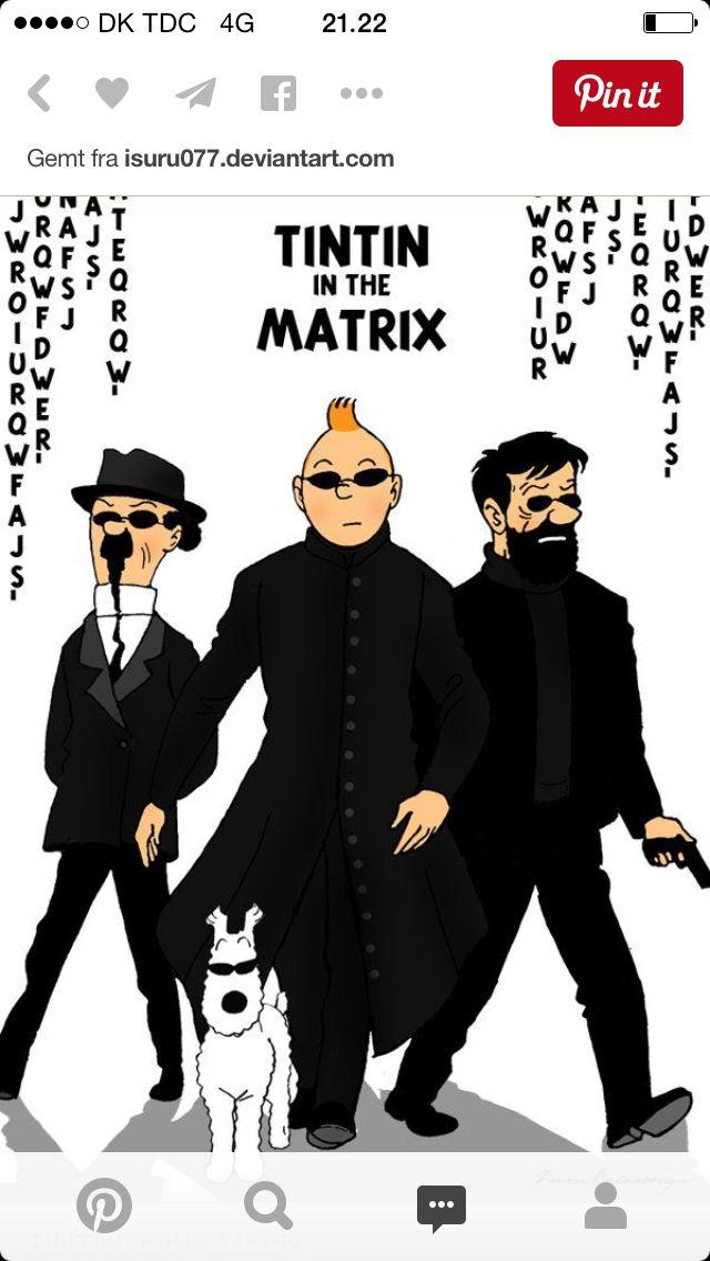 Tintin goes modern