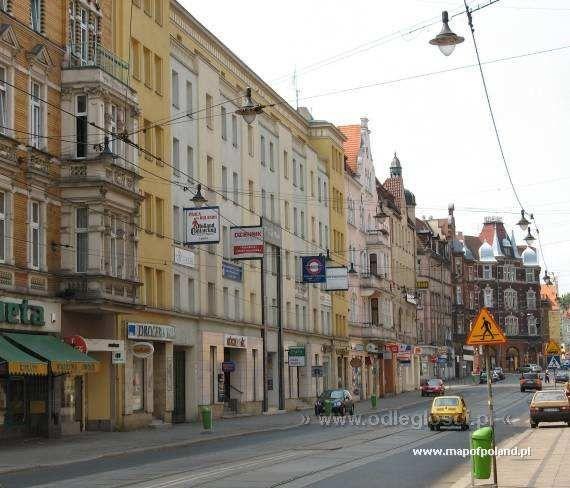 gliwice poland   Zwyciestwa Street - Gliwice pictures. Map of Poland, Gliwice pictures ...