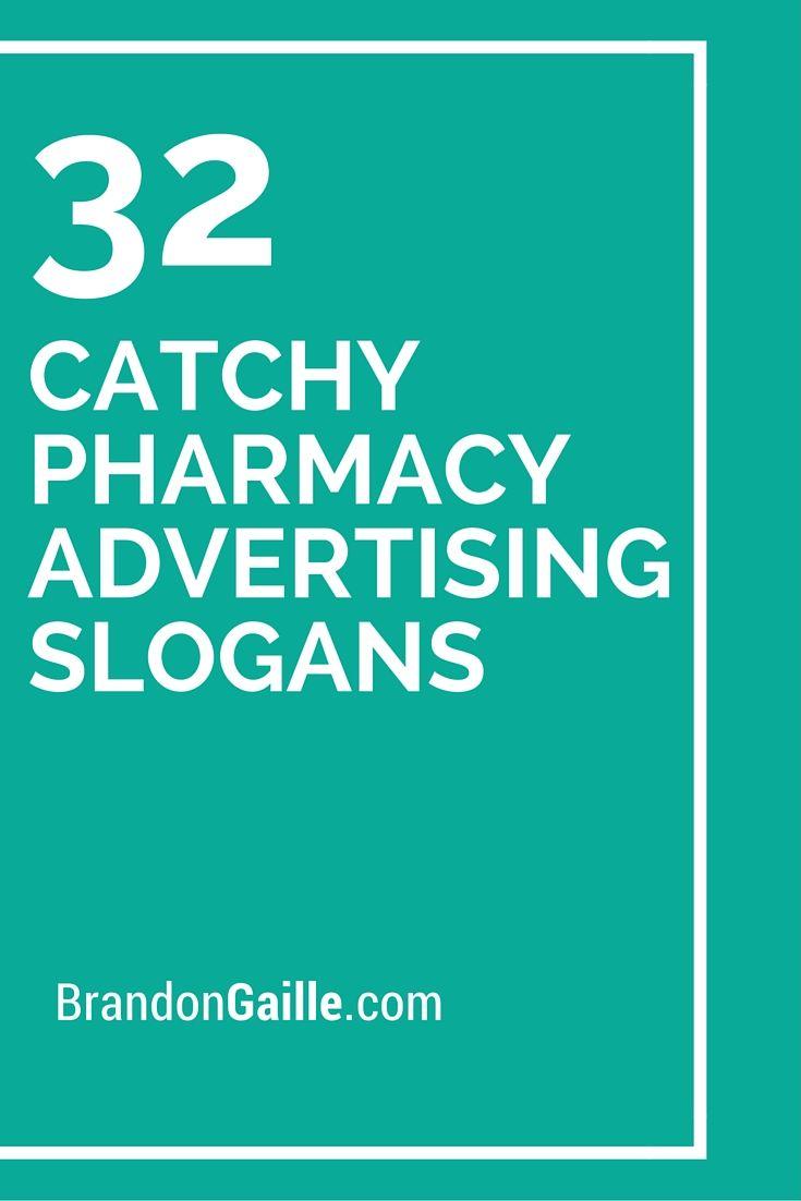 33 Catchy Pharmacy Advertising Slogans | Advertising ...