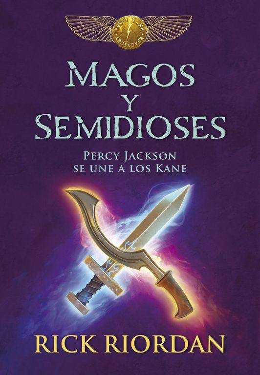 Tres historias originales. Dos sagas míticas. Rick Riordan mezcla en esta novela el mundo de Percy Jackson,  protagonista de la serie «Los héroes del Olimpo» con el de los hermanos Carter y Sadie Kane de «Las crónicas de los Kane».