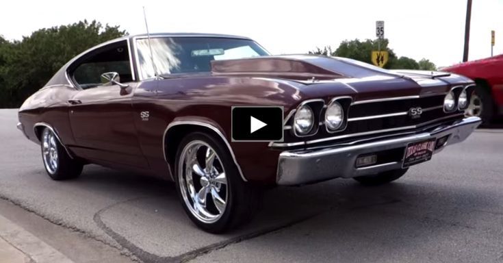 1969 Chevy Chevelle SS Bad To The Bone
