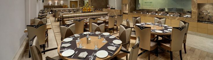 Dining Area at The Grand Bhagwati Surat Hotel