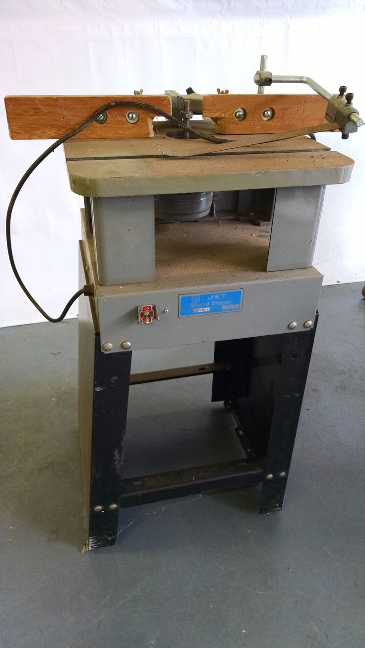 Jet wood shaper Power tools for sale, Drafting desk