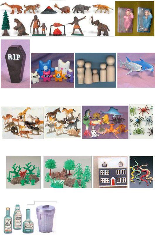 Sandtray Miniatures Starter Kit | Sandplay | toysofthetrade.com