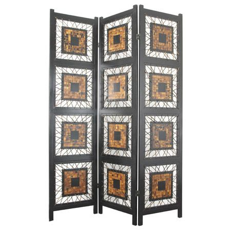 the coco leaf room divider is a unique piece of artwork sure to add essential de modern screens and wall dividers by hayneedle
