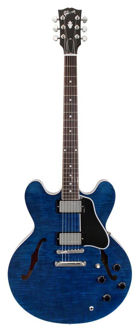 gibson es 335. gloss beale street blue.