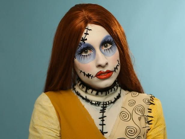 Halloween Makeup Tutorial: Creepy Ragdoll>> http://www.hgtv.com/handmade/adult-halloween-makeup-tutorial-creepy-ragdoll/index.html?soc=pinterest