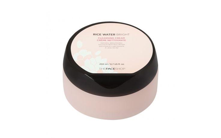 The Face Shop Rice Water Bright Cleansing Cream | This cleansing cream removes impurities while leaving skin soft, supple and toned. Ultra-moisturizing and enriched with rice water, it brightens skin while nourishing the epidermis. Ideal for dry to very dry skin.