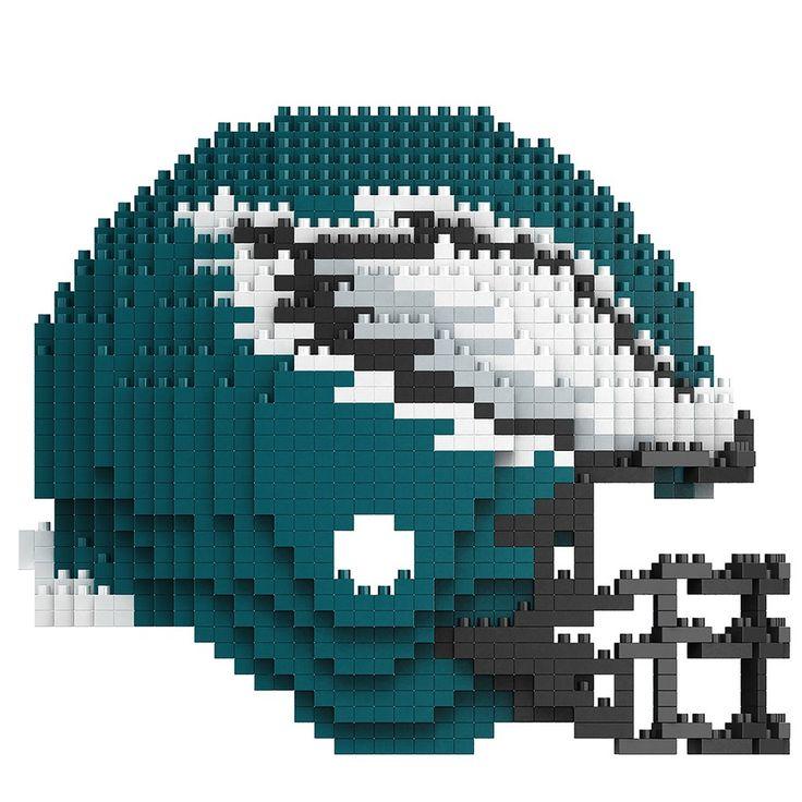 Philadelphia Eagles Puzzle 3D BRXLZ Helmet Design Special Order