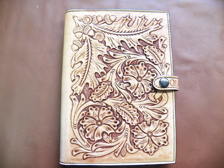 Celtic leather tooling patterns brand wear
