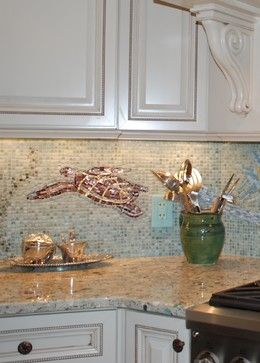 Low Country Cottage for Taggart's River House - beach-style - Kitchen - Other Metro - Rose Aten Design LLC