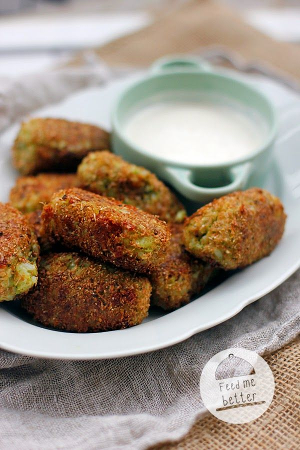 Feed Me Better: Krokiety z brokuła i ryżu (kotlety).