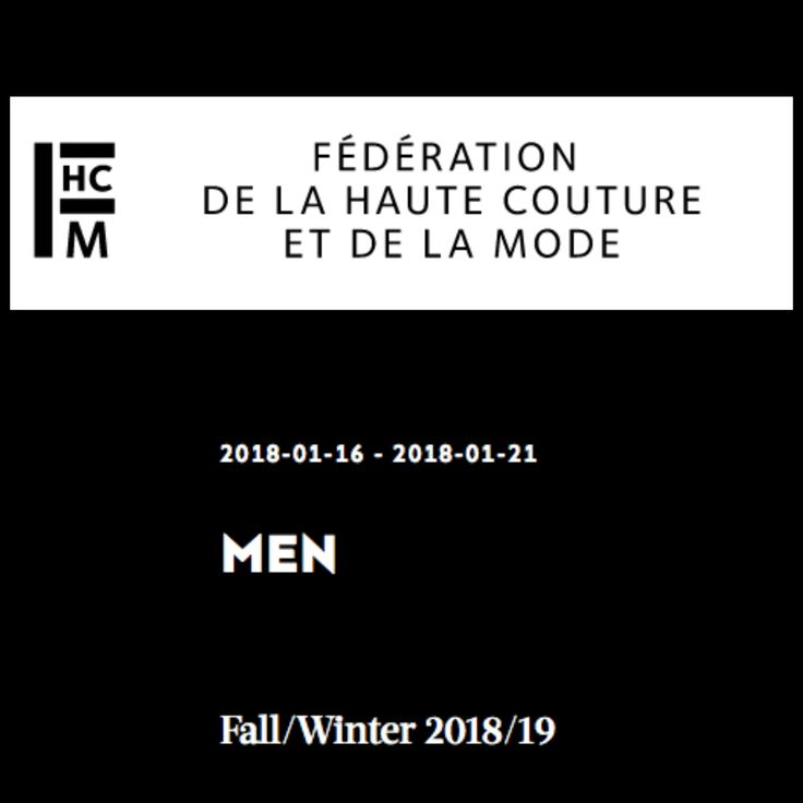 The schedule of Paris Fashion Week Menswear for FW18/19 has been presented. The new season of the menswear collections is scheduled from January16th till the 21st of January, 2018. A day to day schedule now on www.missfashionnews.com #menswear #show #presentation #dior #balmain #kenzo #pfw #paris #FW18 #FW19 #AW18 #AW19 #mode