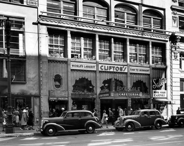 Photos: Historic Clifton's Cafeteria through the Decades