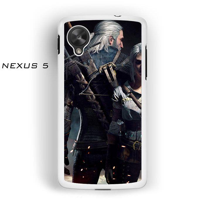 Witcher3 en wallpaper for Nexus 4/Nexus 5 phonecases