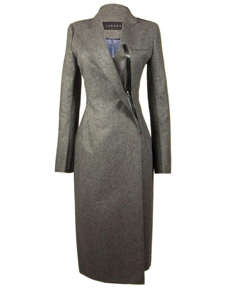 The Contrast Wool Coat