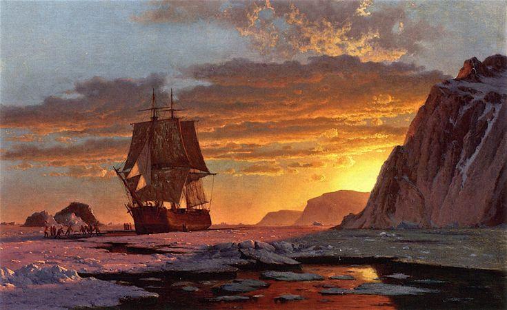 Midnight Sun, The Arctic William Bradford (1878)
