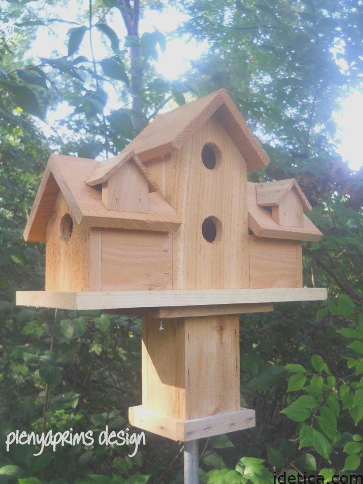 Fresh Decoration Rustic Bird House Design And Style Large Bird Houses Bird House Bird House Plans Free
