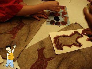 Pinturas rupestres para trabajar la prehistoria con los niños.