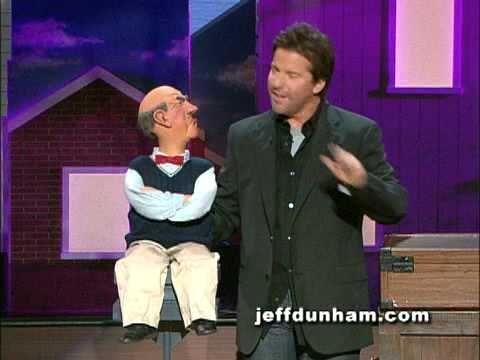 Jeff Dunham and Walter on Letterman - YouTube Jeff Dunham: http://www.youtube.com/playlist?list=PLaJSbUfMFlJ4EUqc7MnP-CxT1xw7Uy4nJ #GetintheGame