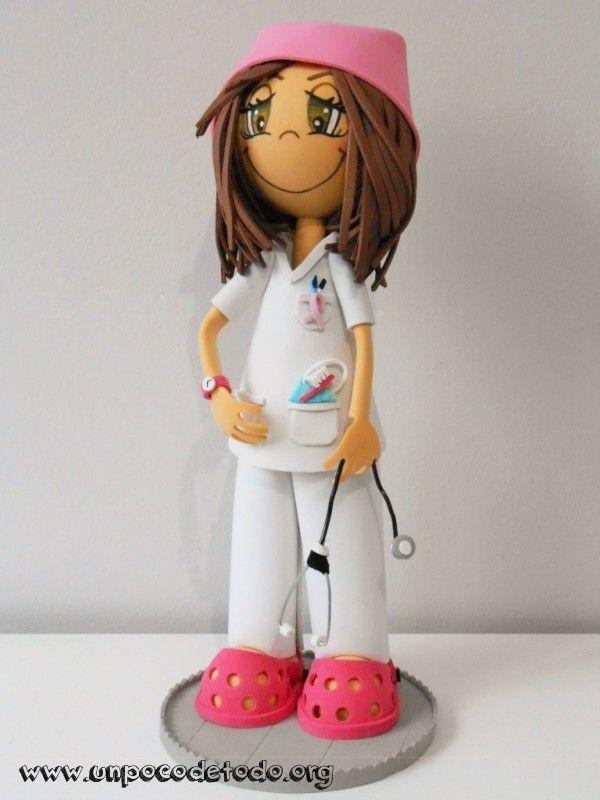 www.unpocodetodo.org - Fofucha enfermera contra el cáncer  - Fofuchas - Goma eva